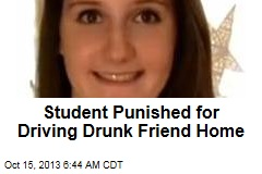 Honor Student Punished for Driving Drunk Friend Home