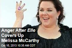 Anger After Elle Covers Up Melissa McCarthy