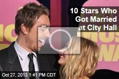 10 Stars Who Got Married at City Hall