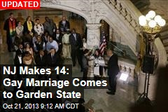NJ Makes 14: Gay Marriage Comes to Garden State