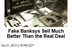 Fake Banksys Sell Much Better Than the Real Deal