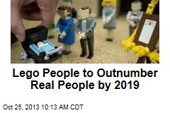 Lego People to Outnumber Real People by 2019