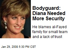 Bodyguard: Diana Needed More Security