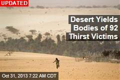 Bodies of 87 Thirst Victims Found in Desert