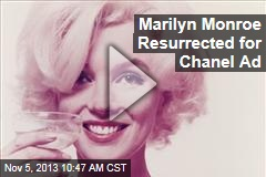 Marilyn Monroe Resurrected for Chanel Ad