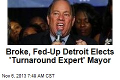 Detroit Gets First White Mayor in 40 Years