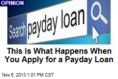 This Is What Happens When You Apply for a Payday Loan