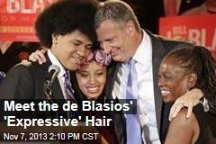 Meet the de Blasios' 'Expressive' Hair
