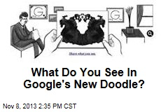 What Do You See In Google's New Doodle?