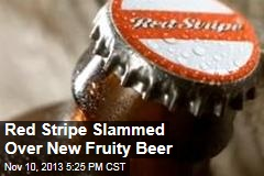 Activists Slam Red Stripe's Fruity Drink, Aimed at Girls