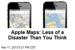 Apple Maps: Less of a Disaster Than You Think
