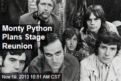 Monty Python Plans Stage Reunion