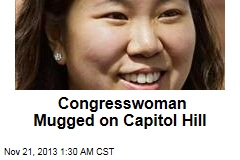 Congresswoman Mugged on Capitol Hill