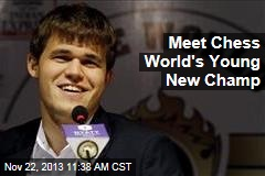 Meet Chess World's New Young Champ