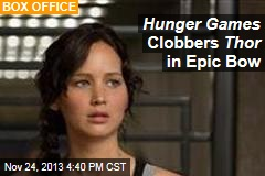Hunger Games Clobbers Thor in Epic Bow