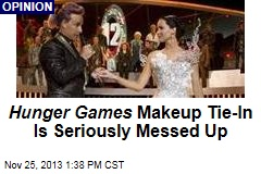 Hunger Games Makeup Tie-In Is Seriously Messed Up