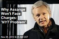 Why Assange Won't Face Charges: ' NYT Problem'
