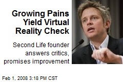 Growing Pains Yield Virtual Reality Check