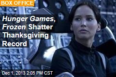 Hunger Games , Frozen Shatter Thanksgiving Record