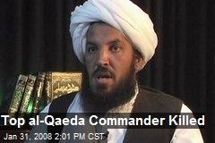 Top al-Qaeda Commander Killed