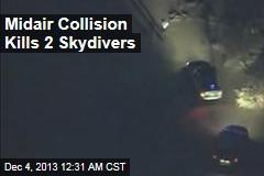 Midair Collision Kills 2 Skydivers