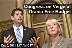 Congress on Verge of Drama-Free Budget