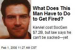 What Does This Man Have to Do to Get Fired?