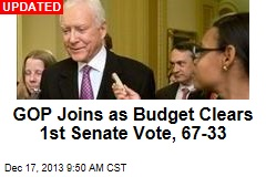 GOP Senators Jump In to Push Budget Over Finish
