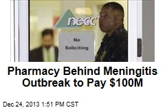Pharmacy Behind Meningitis Outbreak to Pay $100M