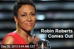 Robin Roberts Comes Out