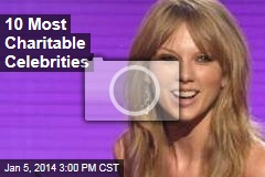 10 Most Charitable Celebrities