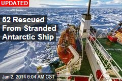 Antarctic Rescue Mission Begins