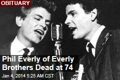 Phil Everly of Everly Brothers Dead at 74