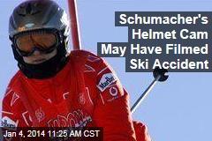 Schumacher's Helmet Cam May Have Filmed Ski Accident