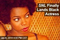 SNL Finally Lands Black Actress