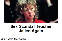 Sex Scandal Teacher Jailed Again