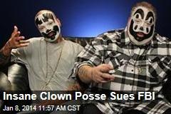 Insane Clown Posse Sues FBI