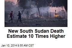 New South Sudan Death Estimate 10 Times Higher