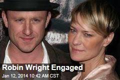Robin Wright Engaged