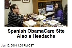 Seeking ObamaCare in Spanish? Bring Your Aspirin