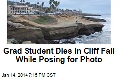 Grad Student Dies in Cliff Fall Posing for Photo