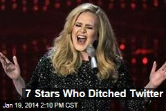 7 Stars Who Ditched Twitter