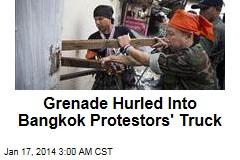 Blast Wounds Dozens of Bangkok Protesters