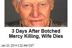 Patient Shot by Husband, 88, Dies