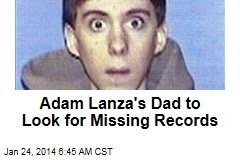 Adam Lanza's Dad to Look for Missing Records
