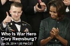Who Is War Hero Cory Remsburg?