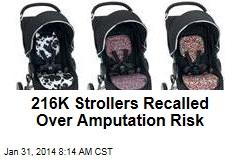 216K Strollers Recalled Over Amputation Risk
