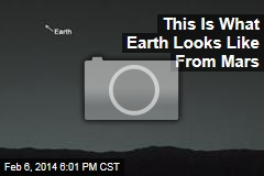 This Is What Earth Looks Like From Mars