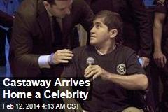 Castaway Arrives Home a Celebrity
