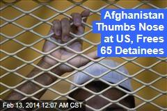 Afghanistan Defies US With Prisoner Release